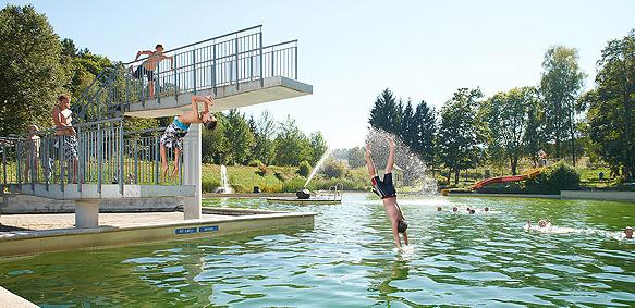 Naturschwimmbad Groß Gerungs (c) Fotostudio Baumgartner